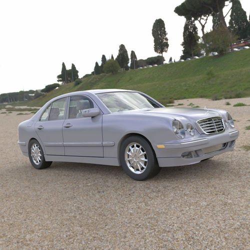 Mercedes Benz E-320 2000 3D