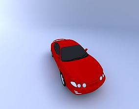 3D 2000 Hyundai Coupe