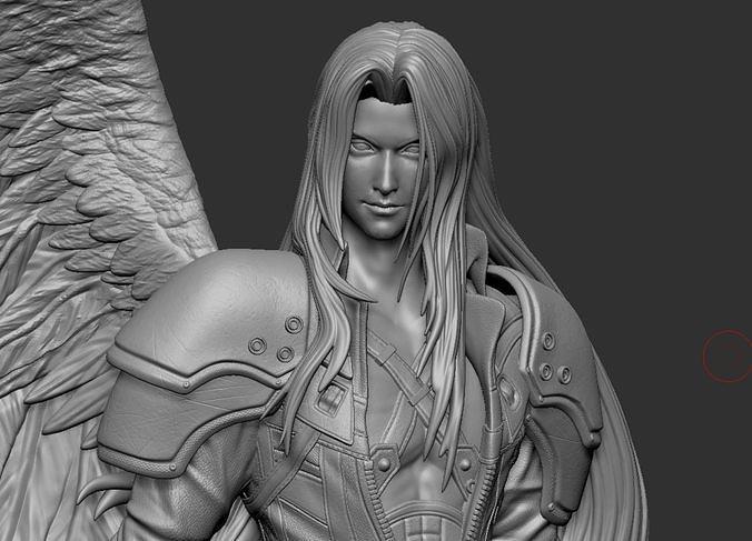 Sephiroth Final Fantasy VII REMAKE HIDEF KEYED