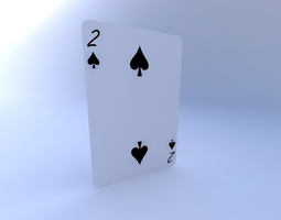 3D Two of Spades