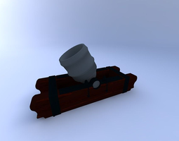 cannon w textures1 3d