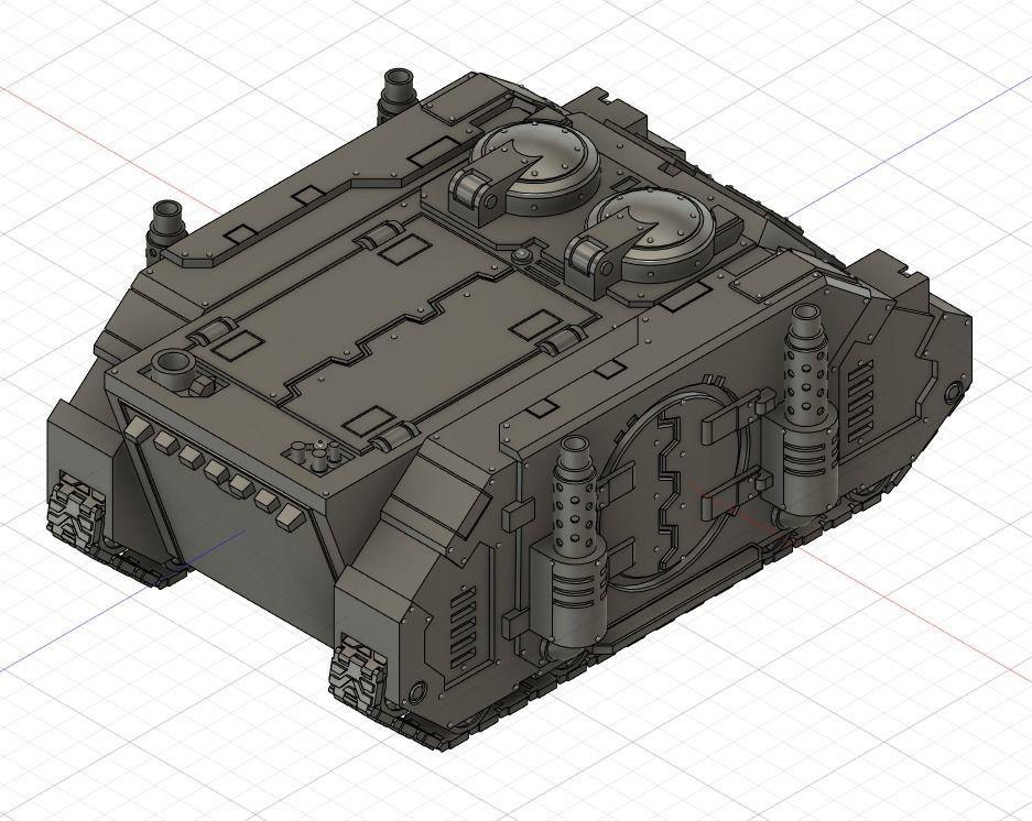 3D Printable Armored Dog by Dmitriy Rubtsov