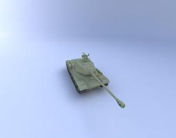 JS-2 Tank 3D Model