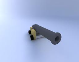 3d cannon, spanish