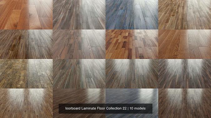 Floorboard Laminate Floor Collection 22, 3d Printed Laminate Flooring