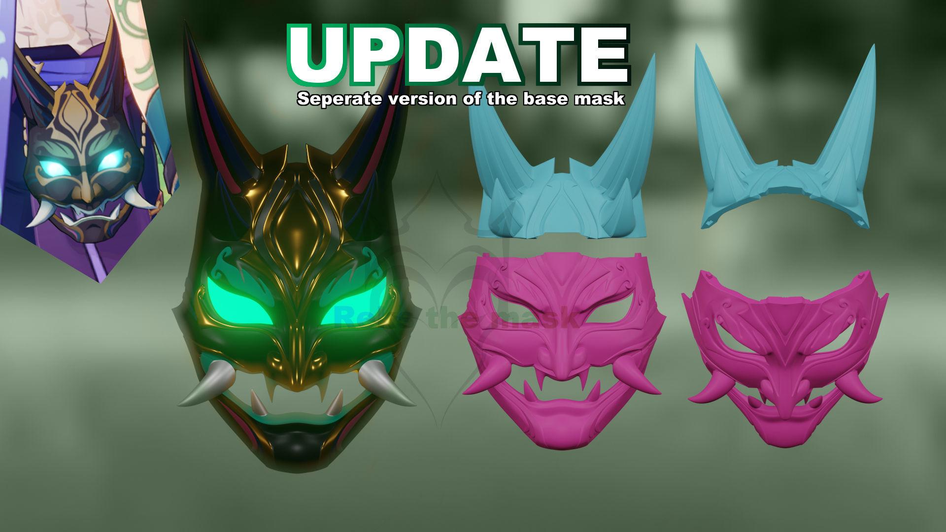Xiao Mask Version 3 3D Print model