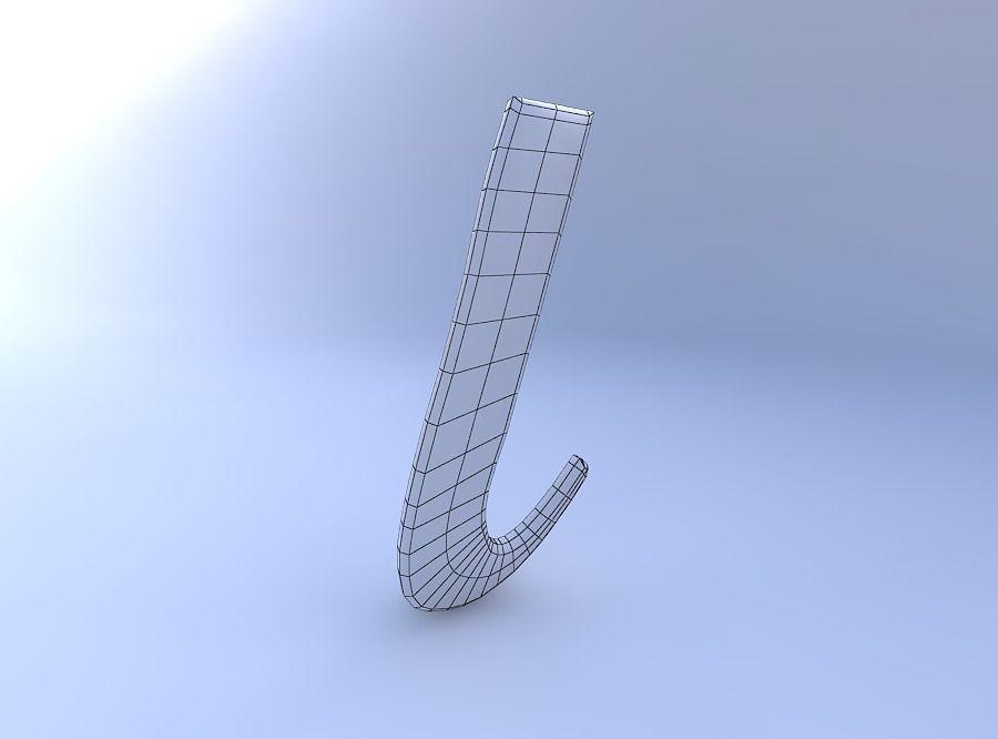 3d Model Greek Letter Iota Cgtrader