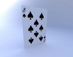 Eight of Spades 3D