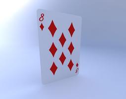 3D Eight of Diamonds