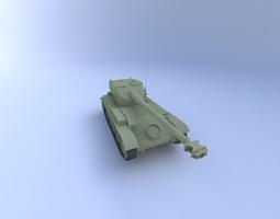 AMX-13 Tank 3D Model