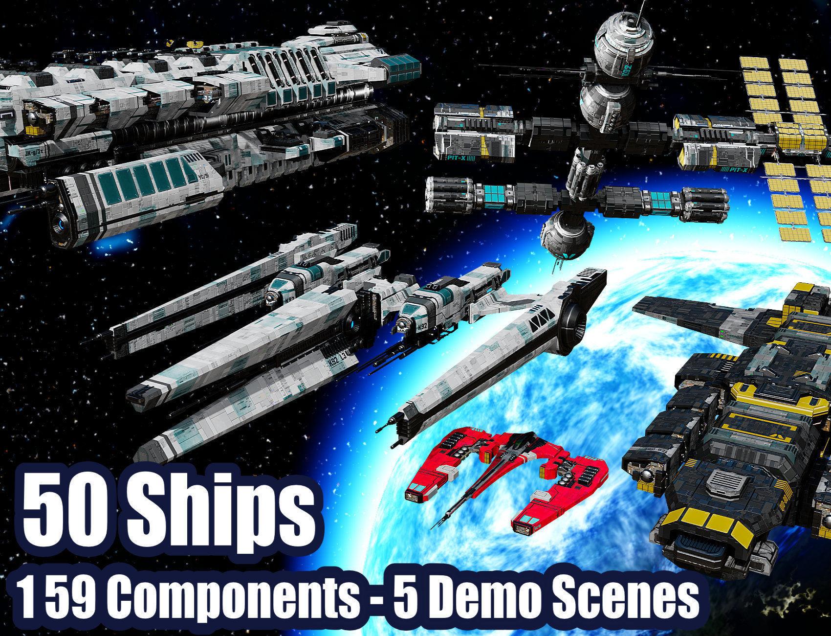 The Big Spaceship Builder