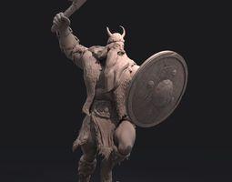 Viking Zbrush Sculpt 3D Model