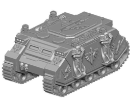 deepspace angels custom tank  3d print model