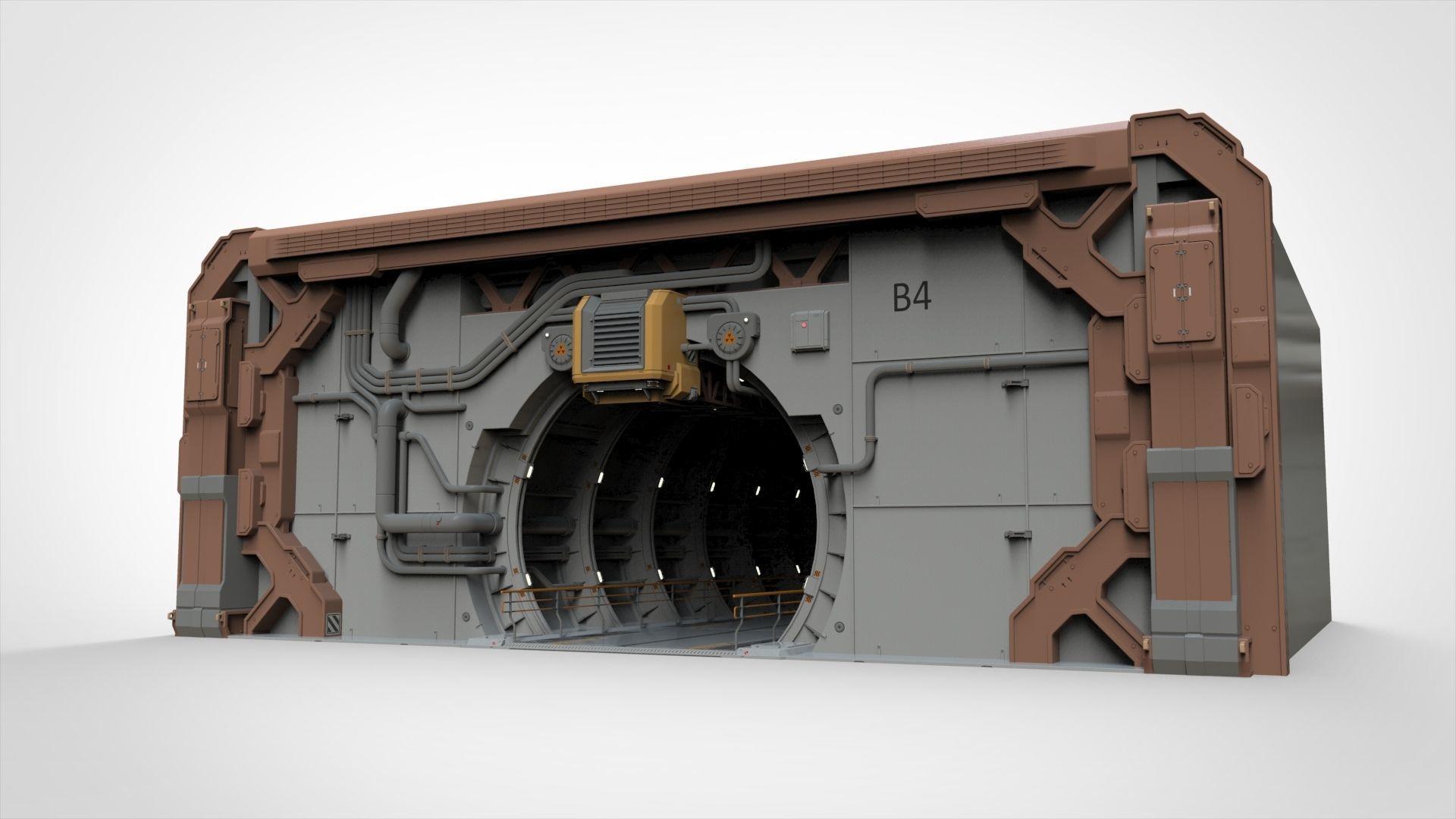 sci-fi architecture 4