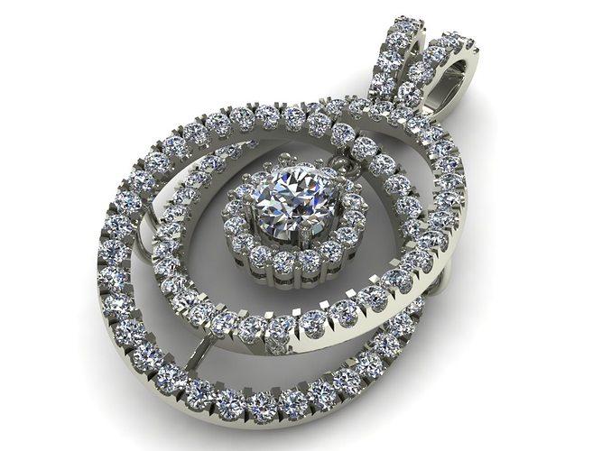diamond earrings model - photo #4