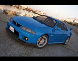 Nissan GTR- R33 3D