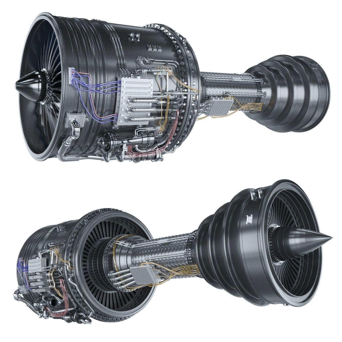 Engine jet boeing