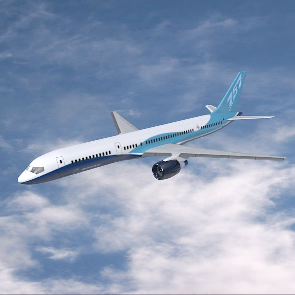 Boeing 757-200 commercial aircraft