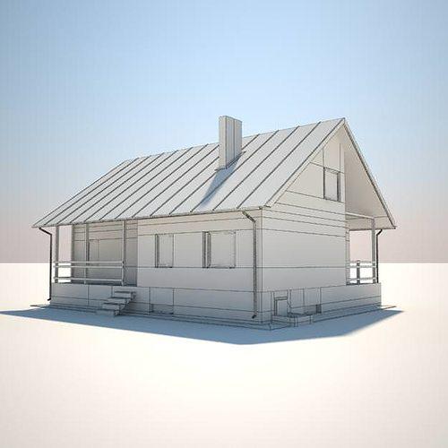 Free House 03 3d Model Max Obj Mtl 1 ...