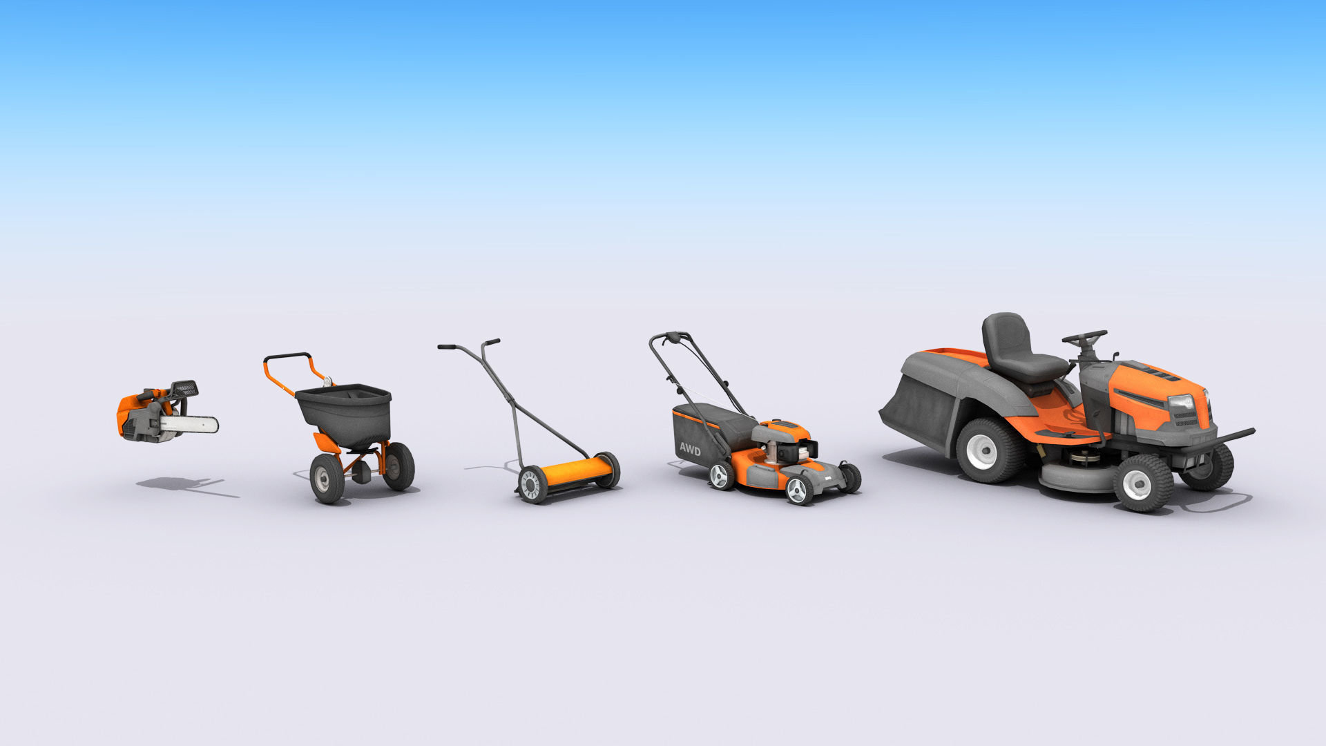 Lawn And Garden Care Equipment