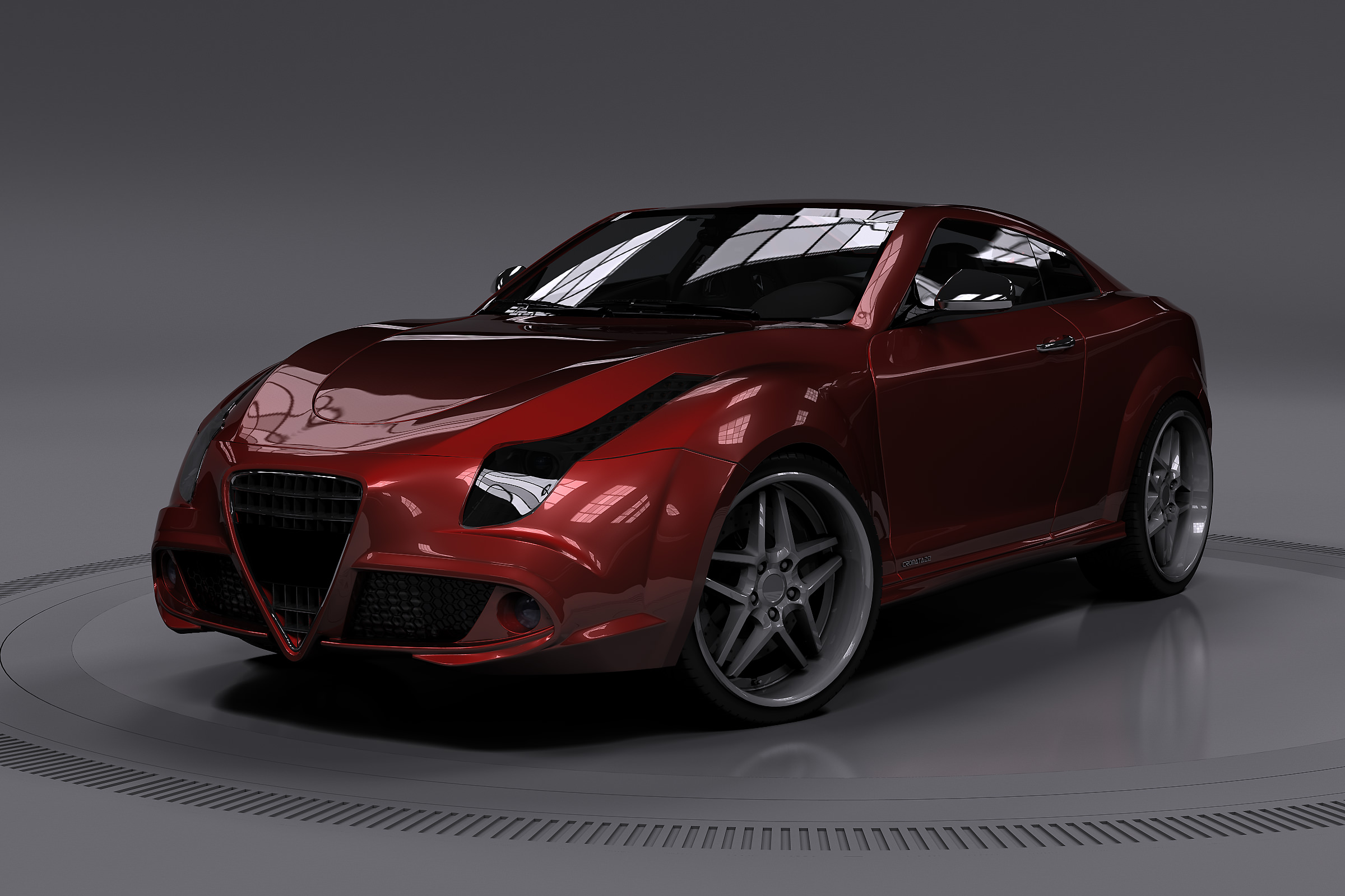 Concept Car 3d Cgtrader