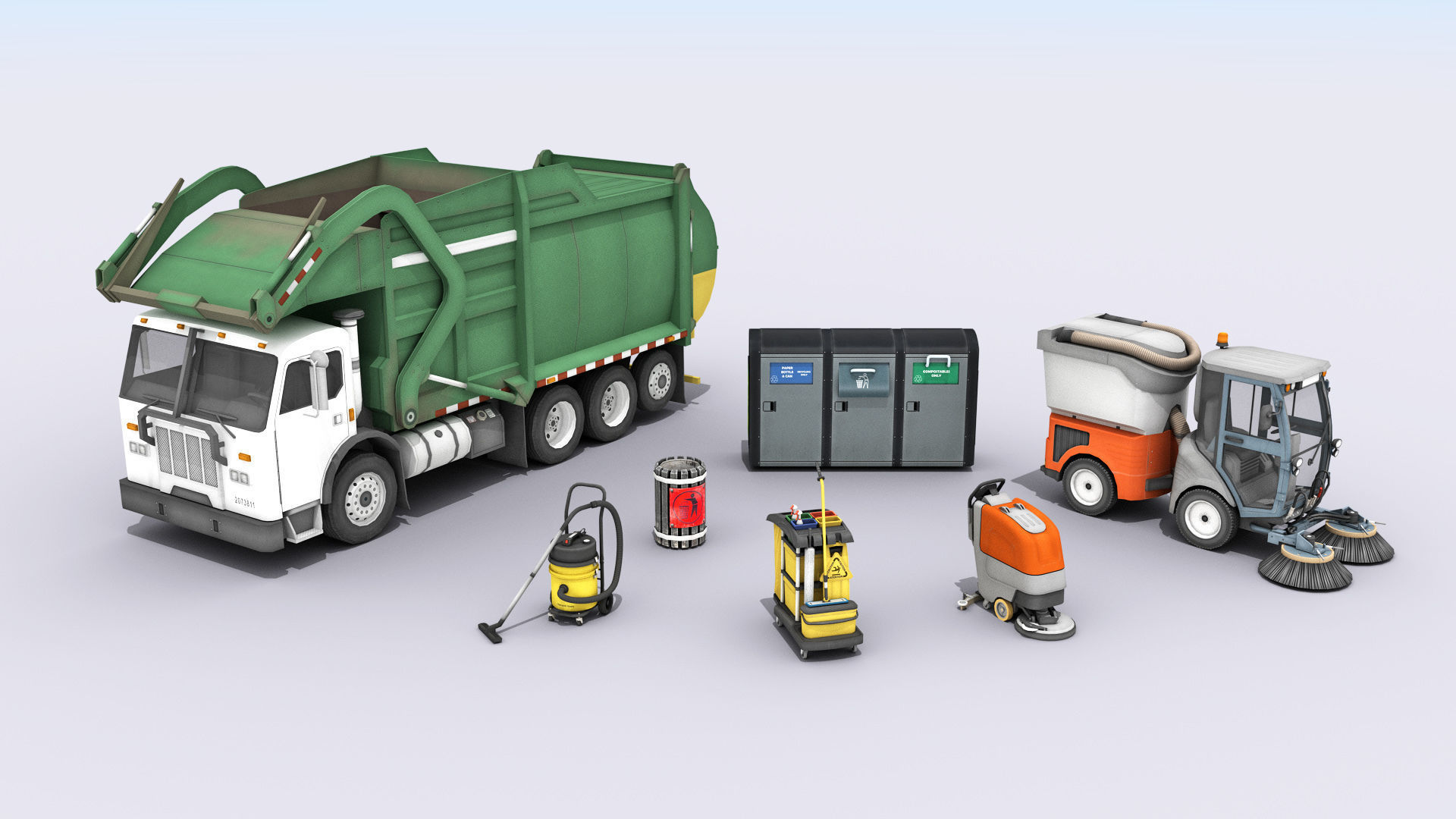 Cleaning And Garbage Equipment
