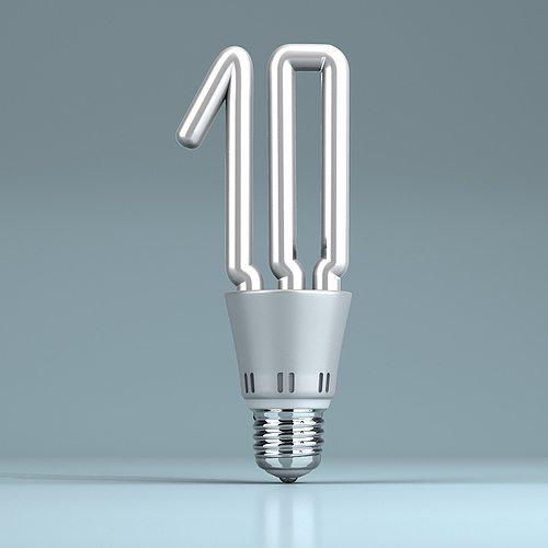 light bulb shaped ten 3d model max obj fbx mtl 1. Black Bedroom Furniture Sets. Home Design Ideas