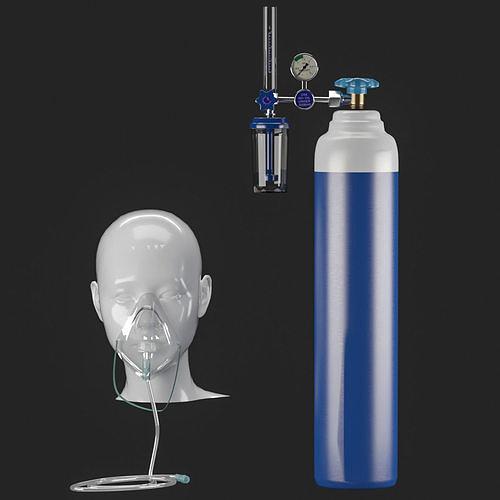 Oxygen masck 3D model