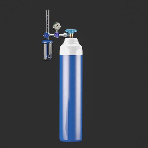 Medical Oxygen Cylinder 3D model