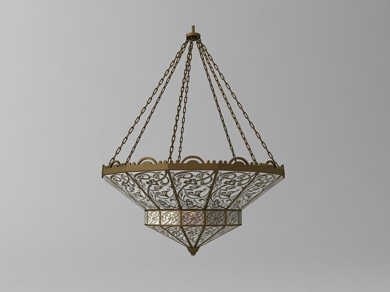 Arabian Chandelier 3D | CGTrader
