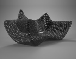 grid vray material 3d model
