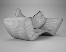 Wire Vray material 3D