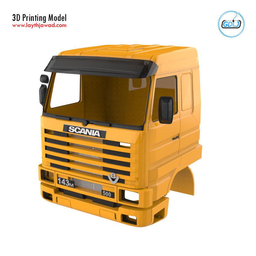 Scania 143 Cabin - Full Professional Version
