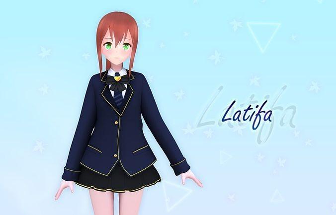 Latifa V2 Original - VRChat and Game Ready