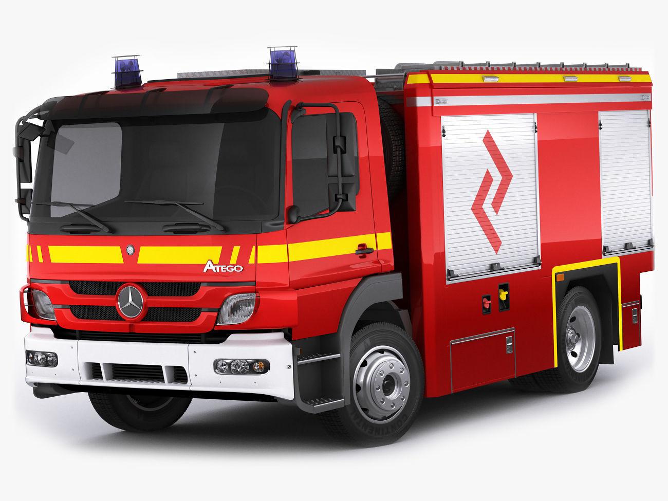 Fire Truck Mercedes Atego