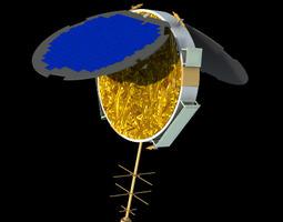 3d model cosmic satellite formosat3