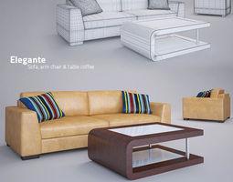 Rendering Wonders Sofa and Table 3D