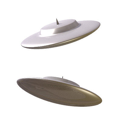 30 realistic flying saucers 3d model 3ds lwo lw lws 25