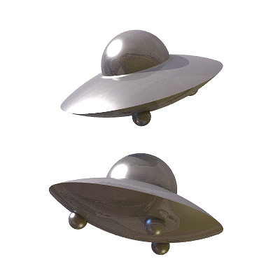 30 realistic flying saucers 3d model 3ds lwo lw lws 9