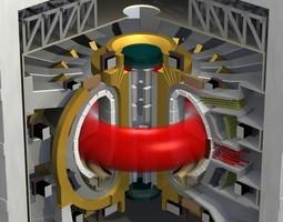fusion reactor 3d model