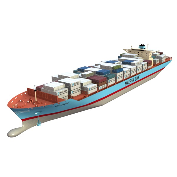 Lexa Maersk Container Ship