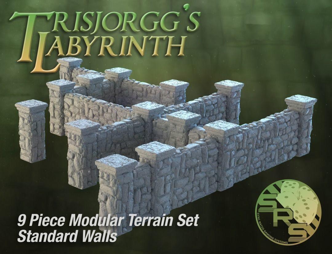 Stone Walls Modular Terrain Set