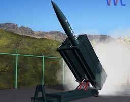 Lora Missile Launcher 3D model