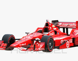 realtime 3d model indy car chevy 2015 pbr