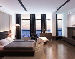 3D model Eu master bedroom