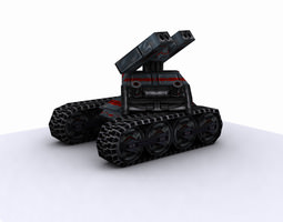 future tank-package 3d model max fbx