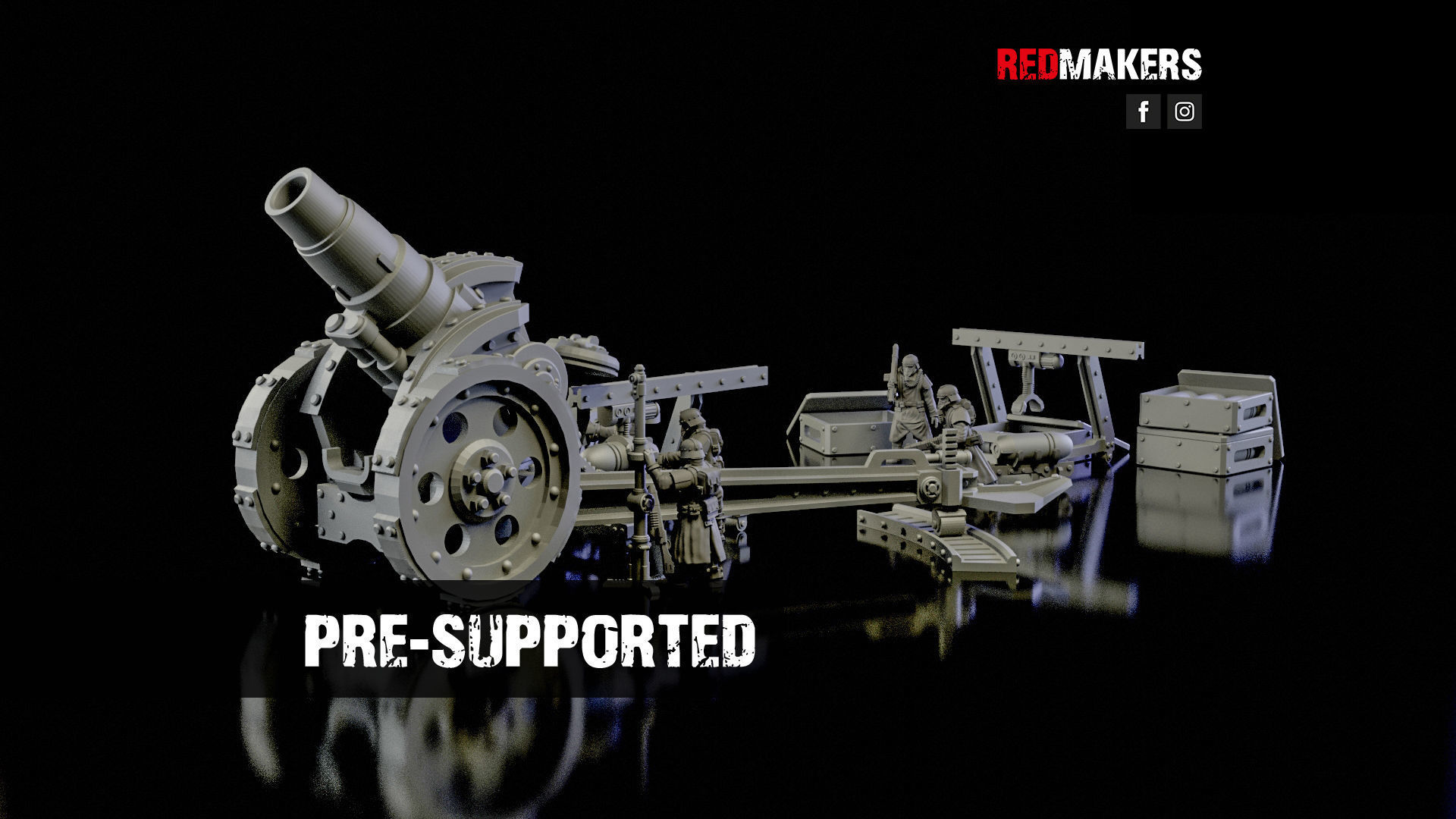 Medusa Cannon - Heavy artillery of the Imperial Force
