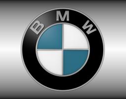3d bmw logo