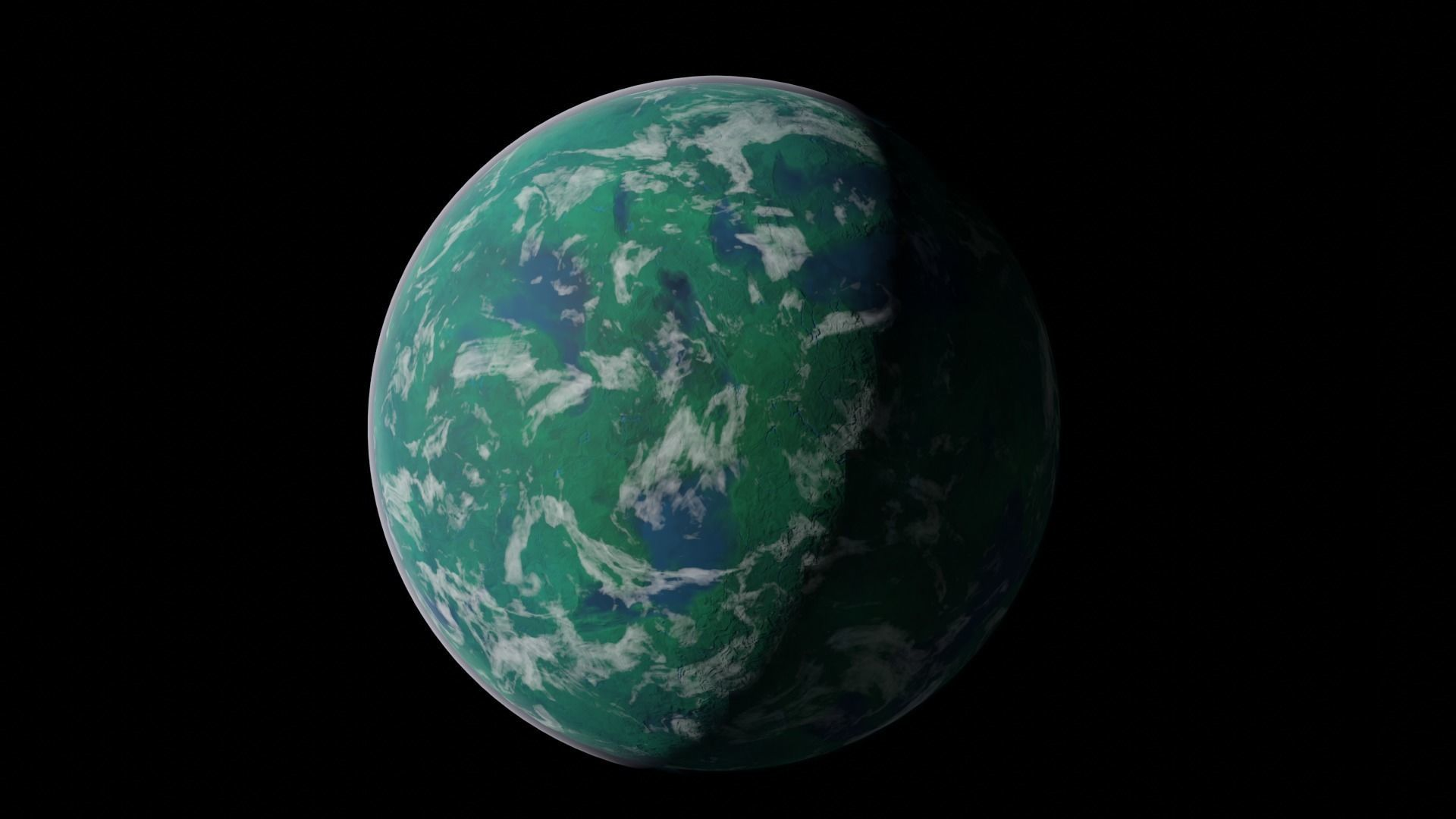 Tropical Planet - Up to 8K Textures