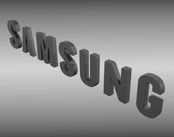 3D Samsung logo